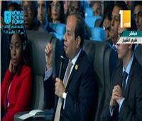 فيديو| السيسي: المرأة هي كل شيء في المجتمع المصري