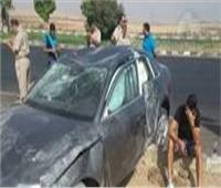 مصرع مواطن وإصابة 4 آخرين بسبب سيارة طائشة بالقليوبية