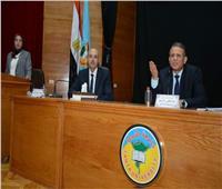 لجنة التصنيف بـ «طنطا» تبحث جهود الصعود بترتيب الجامعة عالمياً