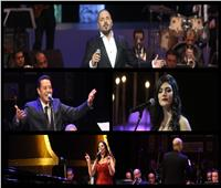 صور| تفاصيل رابع ليالي مهرجان الموسيقى العربية