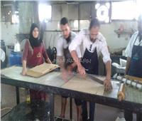 صور| «بوابة أخبار اليوم» داخل أحد مصانع الحلوى بالغربية