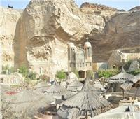 نائب المحافظ يتفقد دير القديس سمعان بمنشأة ناصر