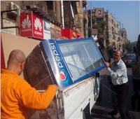 صور| رفع إشغالات ومخلفات بناء في أكبر حملة إزالة بشبرا