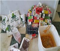 ضبط 110 كيلو أغذية فاسدة بأحد مطاعم سفاجا