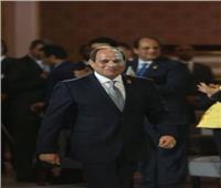 الرئيس السيسي يصل مقر قاعة المؤتمرات لإعلان التوصيات