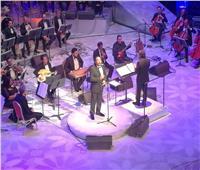 «الحجار» لجمهور الأوبرا: أتشرف بوجودكم.. وتفاجأت بحضور وزيرة الثقافة