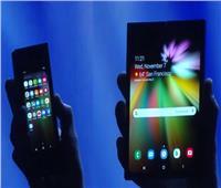 فيديو  سامسونج تكشف النقاب عن أول هاتف قابل للطي