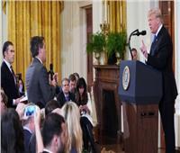 البيت الأبيض يعلق التصريح لمراسل «سي إن إن» بسبب مشادة ترامب