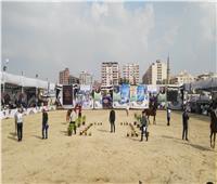 انطلاق فعاليات اليوم الأول لمهرجان الخيول العربية بشبين الكوم