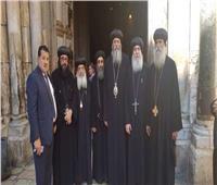 وفد الكنيسة الأرثوذكسية يصل إلى القدس لمتابعة أزمة «دير السلطان»