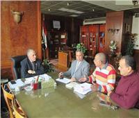 وزير الري يعقد 5 اجتماعات