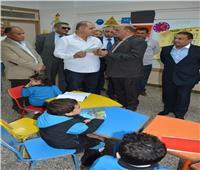 محافظ الغربية يفتتح المدرسة المصرية اليابانية بقرية ميت هاشم بسمنود