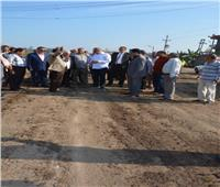 محافظ الغربية: لن أسمح بالتعدي على متر من الأراضي الزراعية