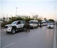 الأمن التونسي يوقف أتوبيس الترجي بسبب الأهلي !!