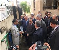 وزيرا التنمية والري يتفقدان وحدة غير نمطية لمعالجة مياه الصرف بالجيزة