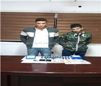 القبض على عاطلين لحيازتهما مواد مخدرة بمدينة نصر