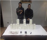 القبض على عاطلين بحوزتهما 14 ألف قرص مخدر في بولاق الدكرور