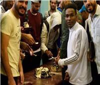 مصر للمقاصة يحتفل بعيد ميلاد «فوافي»