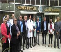 معهد ناصر يستقبل وفدا فرنسيا من الخبراء في جراحات الأورام