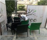 حي المعادي يشن حملة نظافة بالشوارع| صور