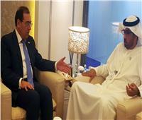 «الملا» يلتقي وزير الدولة الإماراتي بمؤتمر أبوظبي للبترول