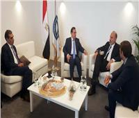 وزير البترول يبحث مع شركة أديسون الايطالية مجالات عملها في مصر