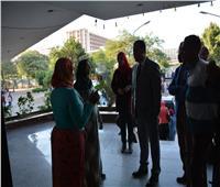 نائب رئيس جامعة أسيوط يستجيب لشكوى طالبة