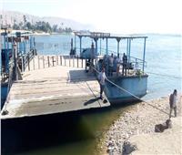 صور| نقل 500 ألف طن قمح من ميناء الإسكندرية إلى صوامع إمبابة