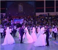 صور  محافظ أسيوط يشهد حفل زفاف جماعي تنظمه القوات المسلحة
