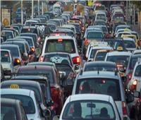 توقف حركة المرور بسبب تعطل أتوبيس في شارع شبرا