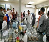 «معالجة القاهرة للصرف الصحي» تستقبل طلاب جامعة طنطا