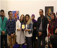 سها قاسم تفوز بجائزة ملتقى لمسات الدولي للفنون التشكيلية