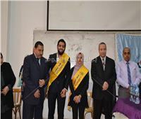 مجاهد يحصد مقعد رئيس الاتحاد وتقى نائبًا في جامعة السويس