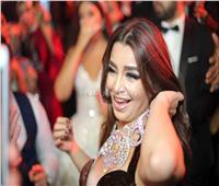 صور| الليثي وبوسي وجوهرة نجوم زفاف «محمد وجاسمن»