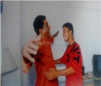 تنشر لأول مرة  10 صور لأحمد زكي مع ابنه «هيثم»