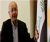 الرئيس العراقي يدعو لـ«منظومة جديدة»