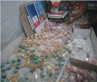صور| مباحث التموين تداهم مصانع حلويات «بير السلم» قبل ذكرى «المولد»