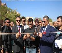 وزير الشباب ومحافظ قنا يتفقدان مركزي شباب «المراشدة» و«هو» بقنا