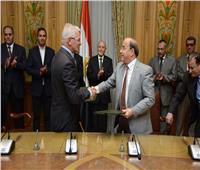 العصار يشهد مع سفيرة «سلوفينيا» توقيع مذكرة تفاهم للتعاون في مجالات الطاقة