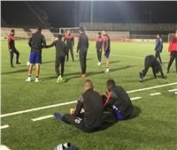 لاعبو الأهلي يخوضون المران الأول في الإمارات