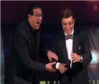 شاهد| كوميديا سمير صبري وماجد الكدواني خلال افتتاح «القاهرة السينمائي»