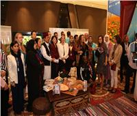 ياسمين فؤاد تفتتح خيمة «الحوار المجتمعي» بمؤتمر التنوع البيولوجي