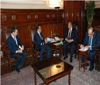 «أبو ستيت» يبحث مع سفير كازاخستان بالقاهرة زيادة التعاون الزراعي