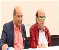 صور  تفاصيل ندوة حسن حسني بمهرجان القاهرة السينمائي