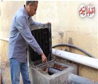 فيديو| «بوابة أخبار اليوم» داخل أول وحدة لتحويل مياه الصرف لسماد عضوي