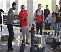أول مسابقة محاكاة لطلاب الهندسة لإطفاء الحرائق باستخدام الروبوت
