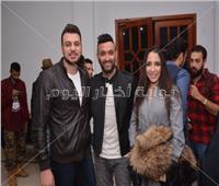 صور| ساندي وكريم محسن والمدفعجية يشاركون بحفل «Spotify»