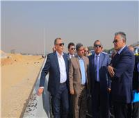 وزير النقل يتابع أعمال تطوير الدائري وتنفيذ الطريق الداعم