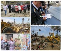 صور  استمرار الحملات الانضباطية بكافة محاور وميادين القاهرة