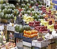 ثبات فيأسعار الفاكهة في سوق العبور اليوم